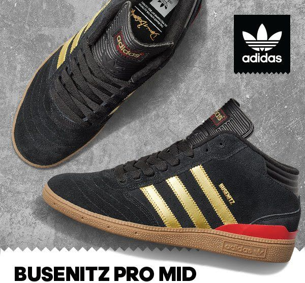 5396c739a08 Adidas - Busenitz Pro Mid - SOUND IN THE SIGNALS