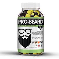 Suplementos y vitaminas para barba