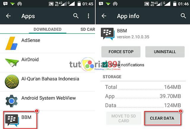 Cara mudah logout BBM dan Whatsapp tanpa hapus aplikasi