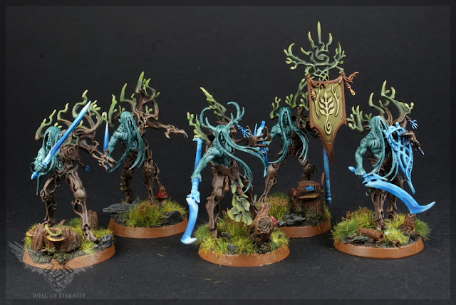 warhammer age of sigmar tree revenants painted 1