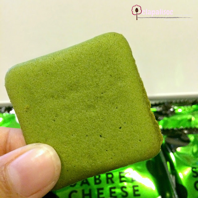 Sabrel Cheese Matcha from Pablo Cheese Tart