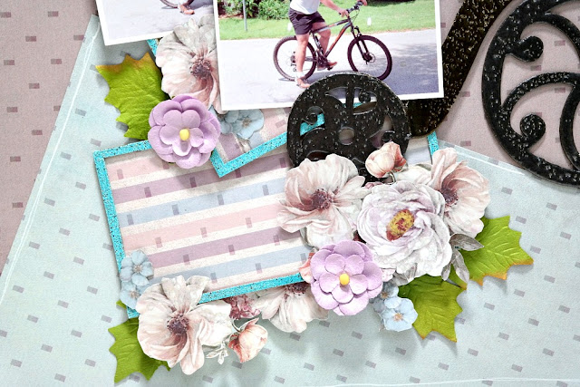 Embossed and Embellished Chipboard Frames by Dana Tatar for FabScraps