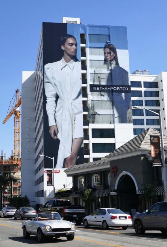 Net-A-Porter Spring 2019 fashion billboard