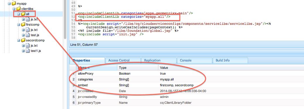 Access ClientLibs under apps folder through