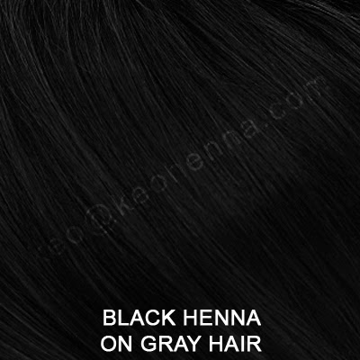 Black Henna Hair Dye On Gray Hair