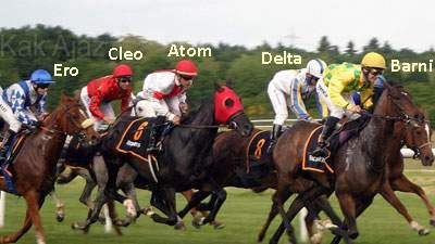 Lima posisi kuda saat finis pada perlombaan balap kuda, soal verbal logika cerita tkpa sbmptn 2017 no. 13