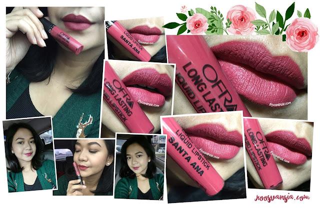 Ofra-Long-Lasting-Liquid-Lipstick-Santa-Ana; ofra-cosmetics; ofra-santa-ana; ofra-liquid-lipstick; ofra; lipstick-cair; liquid-lipstick-bagus