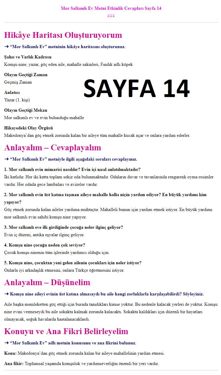 7 Sınıf Türkçe çalışma Kitabı Cevapları Ders Destek Yayınları Ata