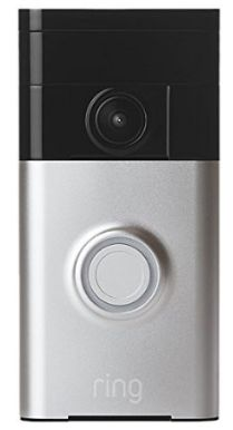 Ring Wi-Fi Enabled Video Doorbell Home Security System