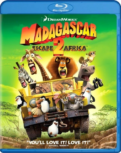 Madagascar Escape 2 Africa 2008 Hindi Dubbed Dual Audio DD 5.1 BRRip 720p 800mb