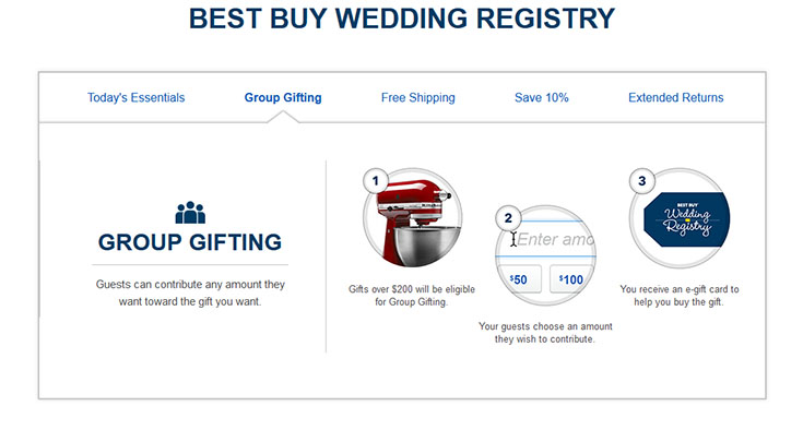Planning a wedding can be stressful, take the stress out of registering for gifts and add everything you'll need for marital bliss to your Best Buy Wedding Registry!