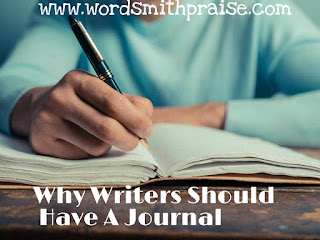 Why writers should have a journal