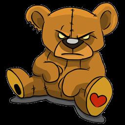 logo boneka beruang