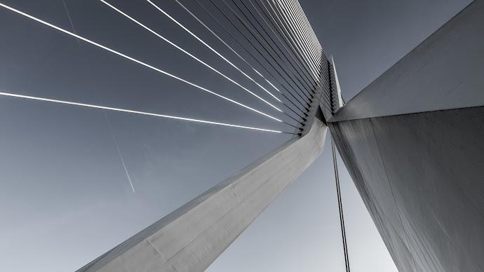 Wallpaper: Erasmusbrug Bridge