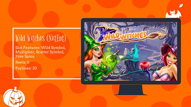 Wild Witches free slot by NetEnt