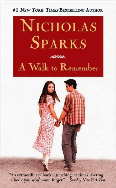 a walk to remember book quotes - photo #19