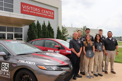 The Toyota Engineering Motorsports team
