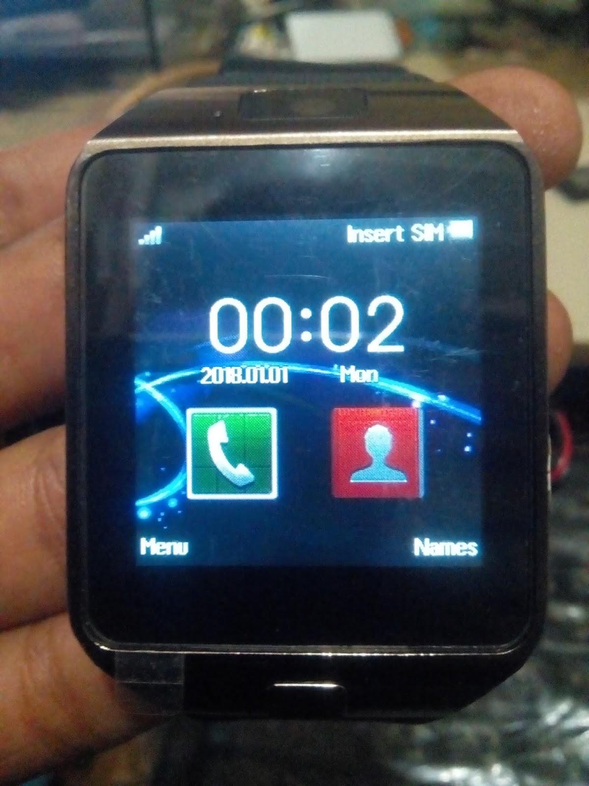 Smart Watch DZ09 MT6260 flash file 100%ok RAZIB TELECOM ~ Gsm Razib
