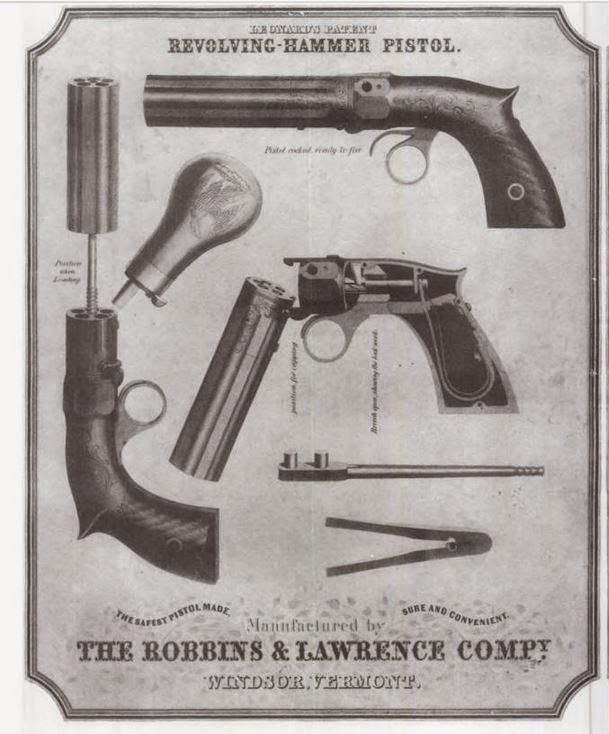 Volcanic pistol blueprints