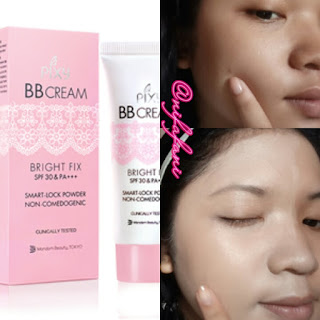 review pixy bb cream bright fix SPF 30 PA+++
