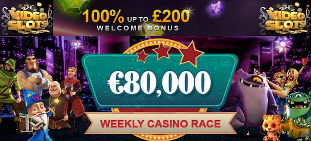 Videoslots.com €80.000 Casino Race