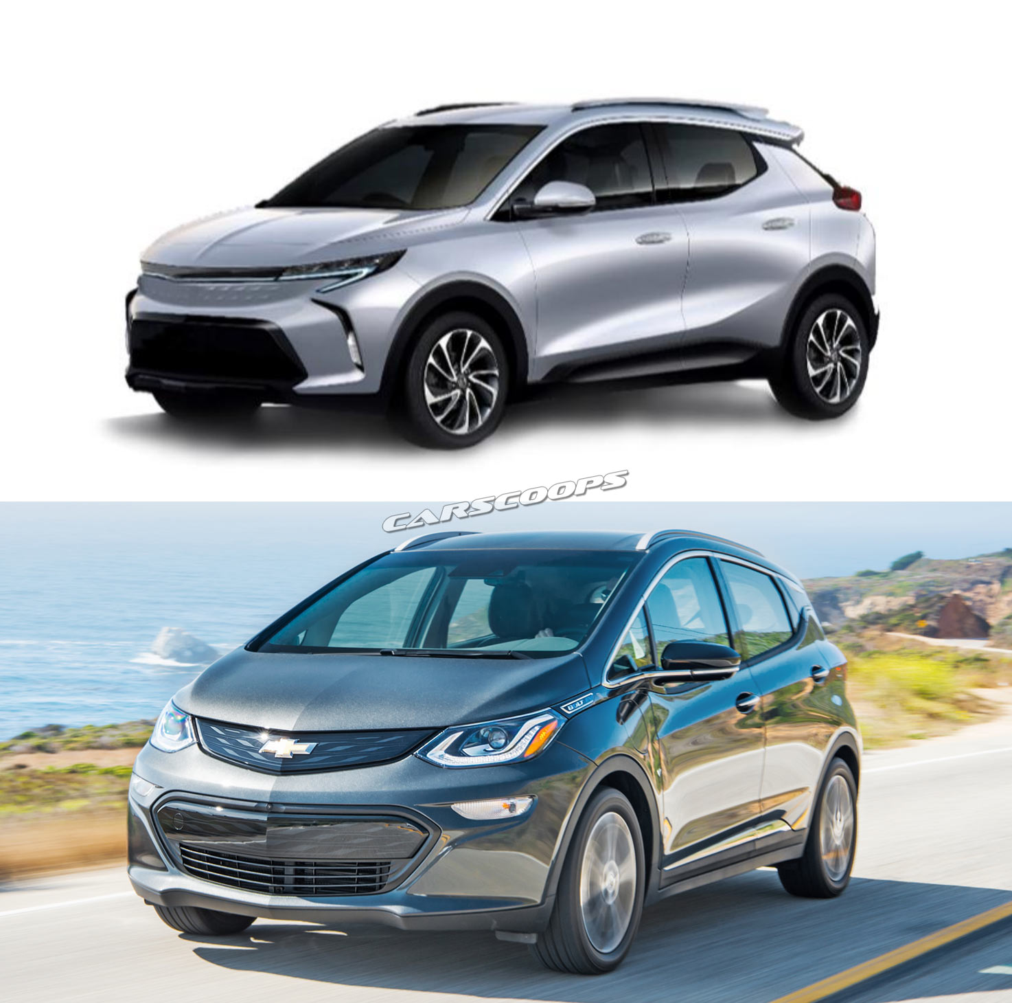 Chevrolets Bolt Based Electric Crossover Revealed Arrives By 2020 The Car Concept Chevrolet Fnr Chevy X