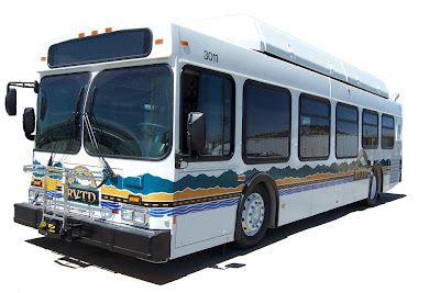 Rogue Valley Transportation District bus