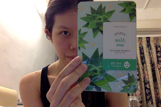 Nic In Disguise: Etude House I Need You Mask Review: Aloe (#2)