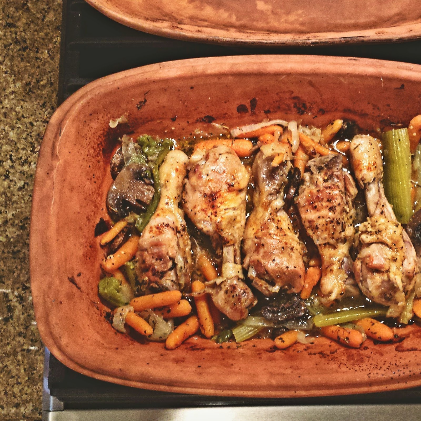Southern Spin R 246 Mertopf Chicken Drumsticks And Vegetables