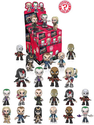 Suicide Squad Mystery Minis Blind Box Series by Funko