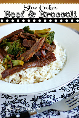 Slow Cooker Beef and Broccoli | Mandy's Recipe Box