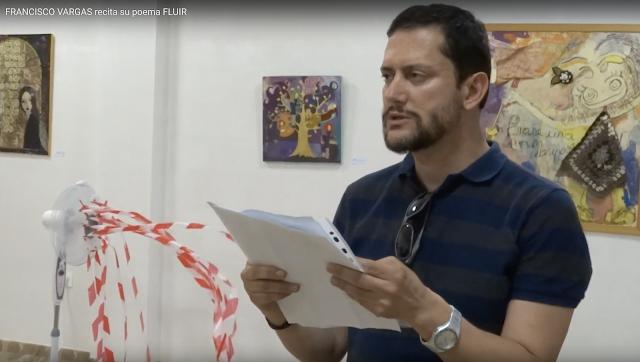 FRANCISCO VARGAS recita 3 poemas en ESPACIO ARTESUR Berja