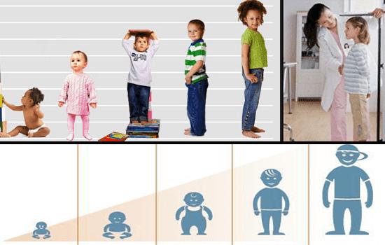 Ilustrasi Pertumbuhan Tinggi Badan Anak