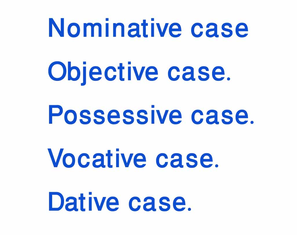 English Grammar With Bengali Nominative Case Objective