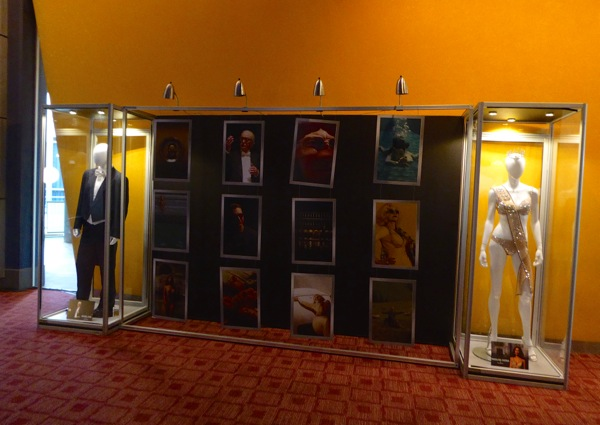 Youth film costume display