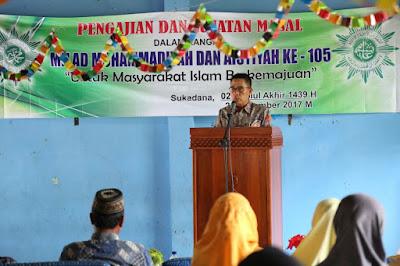 BAZNAS Lampung Timur Gelar Pengajian Akbar dan Bantuan Sosial