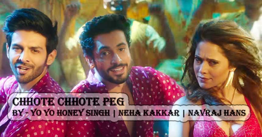Chhote Chhote Peg Lyrics - Yo Yo Honey Singh | Neha Kakkar | Navraj Hans
