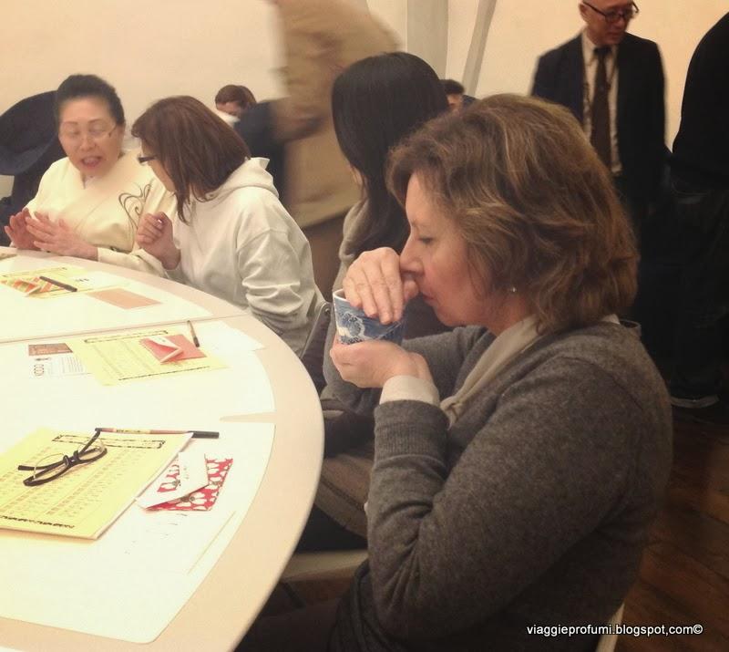 La cerimonia dell'Incenso giapponese