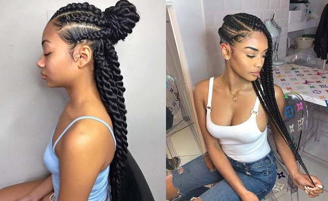 31 Trendy Cornrows Braids Hairstyles For Black Women To Copy In 2019 Fashionuki