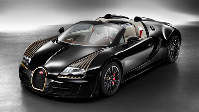bugatti veyron black hd wallpaper