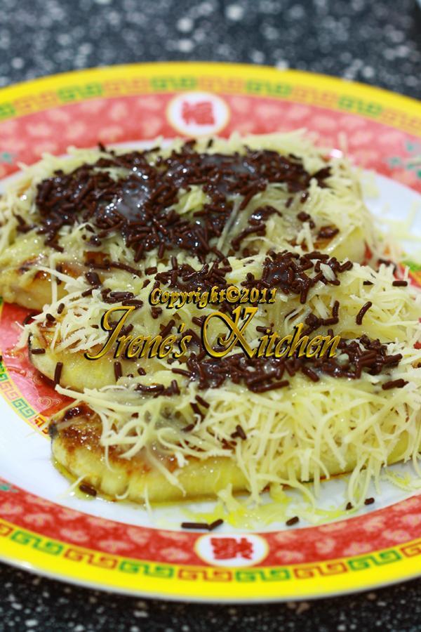 Resep Pisang Keju : resep, pisang, Irene's, Kitchen:, PISANG, BAKAR, COKLAT