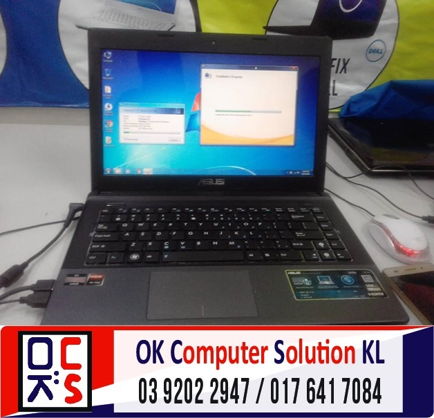 [SOLVED] FORMAT & BACKUP ASUS X45U | REPAIR ASUS CHERAS 1