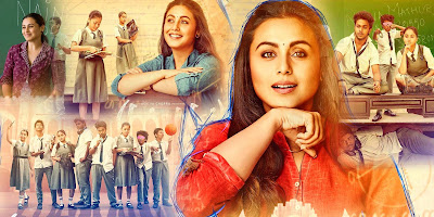 Hichki, Bollywood Movie, Hindi Movie, Movie, Filem Bollywood Hichki, Filem India, Filem, Pendidikan, Guru, Tourette Syndrome, Hindustan, 2018, Filem Baru Rani Mukerji, Pelakon Filem Hichki, Rani Mukerji, Shivkumar Subramaniam, Neeraj Kabi, Harsh Mayar, Hussain Dalal, Simple Review, My Favorite, My Opinion, Review By Miss Banu, Blog Miss Banu Story, List Filem Bollywood Bulan Mei 2018,