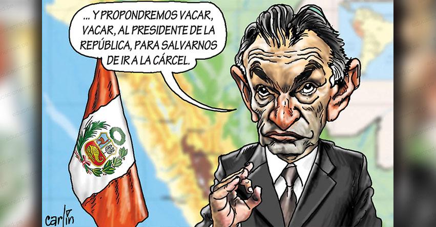 Carlincaturas Miércoles 4 Septiembre 2019 - La República