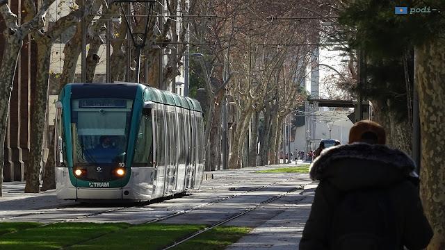 Calle de Wellington, zoo de Barcelona y tranvía