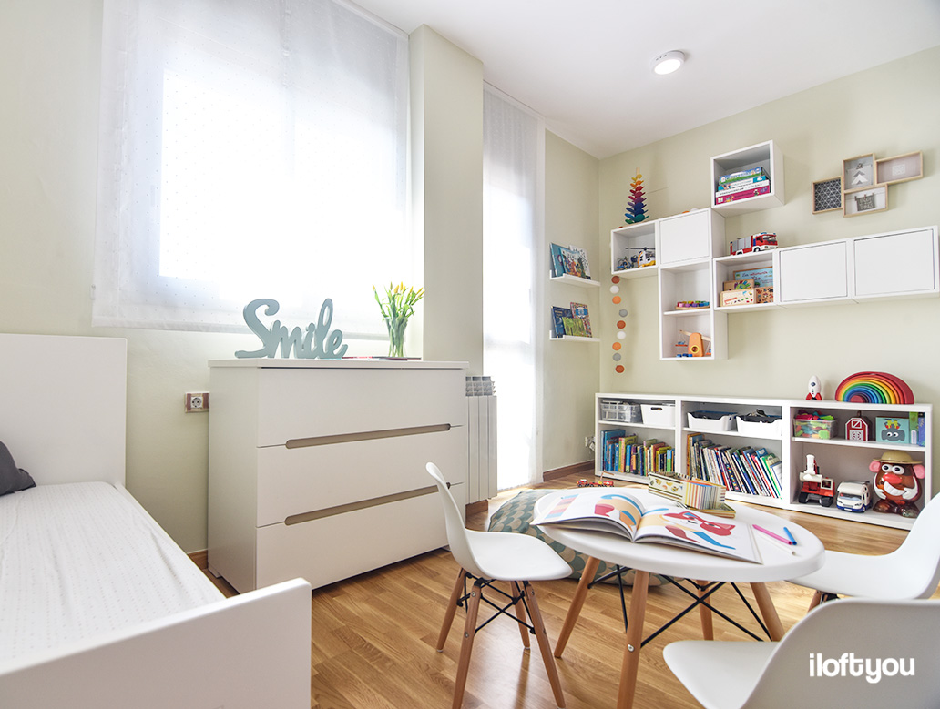 Hogar diez un dormitorio perfecto para tres hermanos - Habitacion 2 camas ...