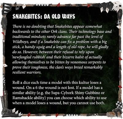 Clan Snakebite Orkos