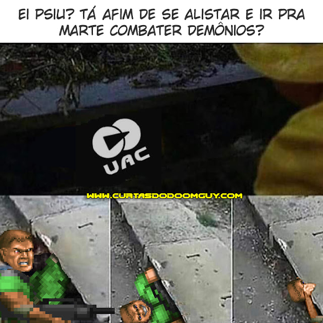 Se alistando na UAC