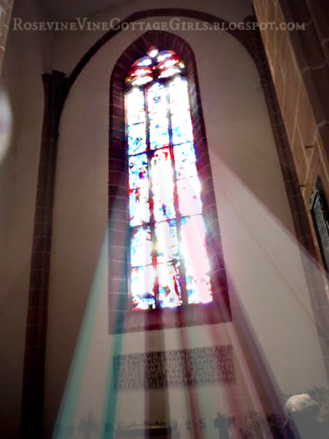 Windows in Saint Marien's Church