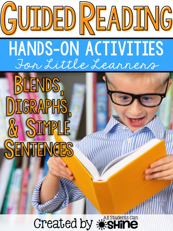 guided reading blends digraphs